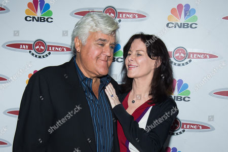 """Jay Leno and Mavis Leno attend """"Jay Leno's Garage"""" series launch party at The Press Lounge at Ink48, in New York"""