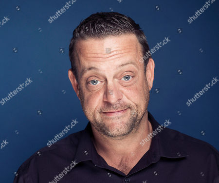 """This photo shows actor Lenny Venito posing for a portrait in New York. Venito stars in the new comedy """"The Neighbors,"""" airing Wednesdays at 9:30 p.m. EST on ABC"""