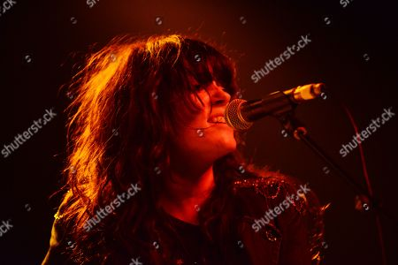 Delila Paz of The Last Internationale performing at Center Stage Theater, in Atlanta