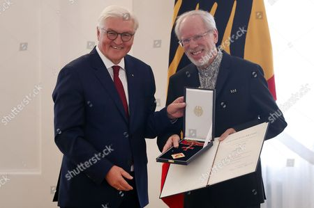 Stock Photo of Gidon Kremer and Frank Walter Steinmeier