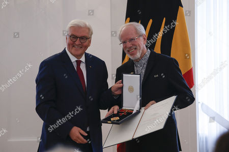 Editorial photo of Order of Merit Ceremony, Berlin, Germany - 04 Oct 2017