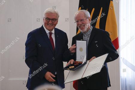 Frank-Walter Steinmeier, Herr Gidon Kremer (Laufen)