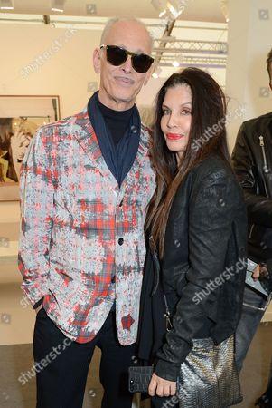 John Waters and Loree Rodkin