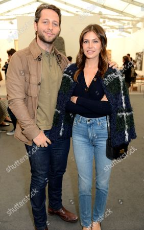 Derek Blasberg and Dasha Zhukova