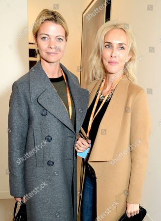 Stock Picture of Jemma Kidd, Marchioness of Douro, and Sarah Woodhead