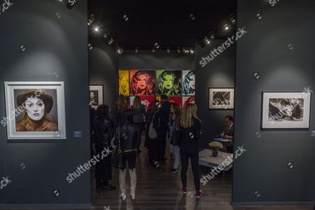 Old and contemporary (incl Homage a Wharhol by Gunter Sachs) works side by side in Bernheimer Fine Art - Frieze Masters London 2017, Regents Park, London. It covers several thousand years of art from 130 of the world's leading modern and historical galleries. The vetted artworks spanning antiquities, Asian art, ethnographic art, illuminated manuscripts, Medieval, modern and post-war, Old Masters and 19th-century, photography and sculpture.  The fair is open to the public 05-08 October.