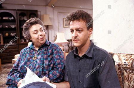 'Watching'  - Mrs Stoneway [Patsy Byrne], Malcolm Stoneway [Paul Bown].