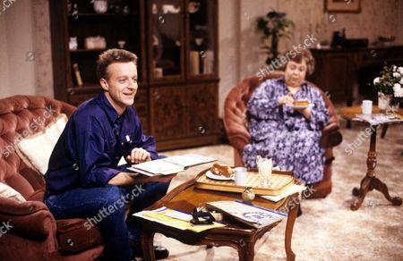 'Watching'  - Malcolm Stoneway [Paul Bown], Mrs Stoneway [Patsy Byrne]