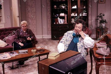 'Watching'  - Aunty Peggy [Elizabeth Spriggs], Mrs Stoneway [Patsy Byrne]