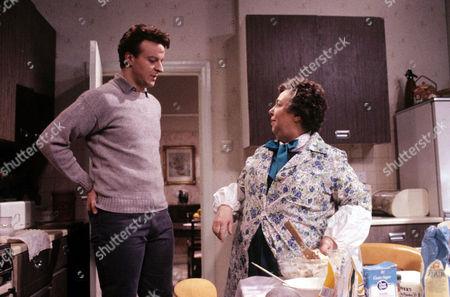 'Watching'  - Malcolm [Paul Bown], Mrs Stoneway [Patsy Byrne]