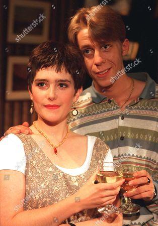 'Coronation Street' TV - 1992 -  Andy McDonald [Nicholas Cochrane] and Paula Maxwell [Judy Brooke]
