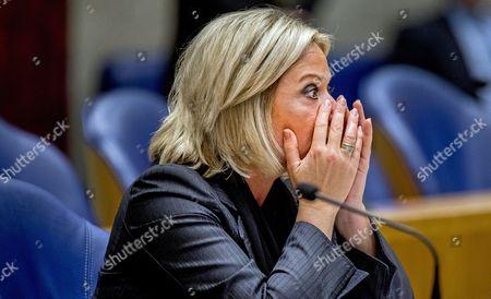 Editorial image of Dutch Defence Minister Hennis-Plasschaert resigns over 2016 Mali deaths, The Hague, Netherlands - 03 Oct 2017