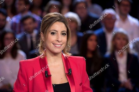 French journalist and host Lea Salame