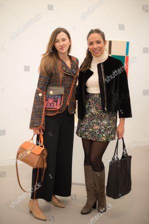 Maria Baibakova and Alia al Senussi