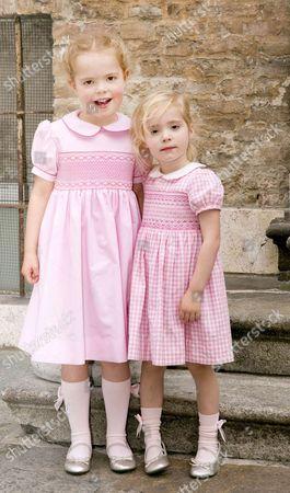 Princess Luisa, Markiezin of Castell Arquato and Princess Cecilia, Countess of Berceto