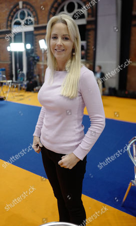 Journalist Isabel Oakeshott seen during the Conservative Party Conference on Day Four