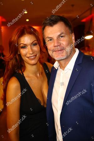 Yasmina Filali and Thomas Helmer