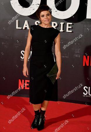 Italian actress Antonia Truppo poses for the Italian premiere of ''Suburra La Serie'' in Rome, Italy, 04 October 2017.