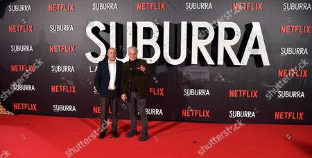 Editorial photo of Premiere of 'Suburra La Serie' in Rome, Italy - 04 Oct 2017