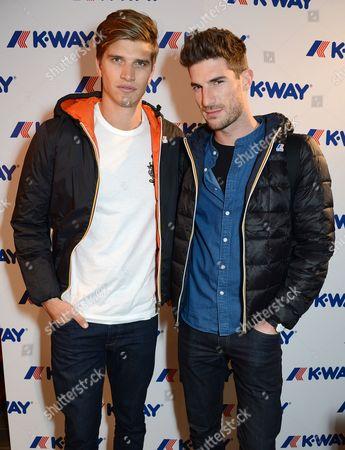 Toby Huntington-Whiteley and Ryan Barrett