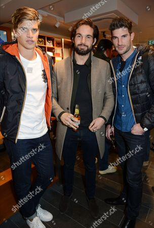 Editorial picture of K-Way London Flagship Store Opening, London, UK - 04 Oct 2017