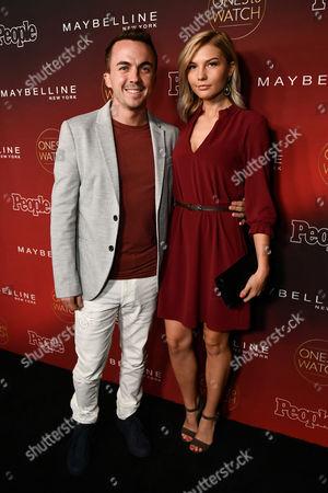 Frankie Muniz and Paige Price
