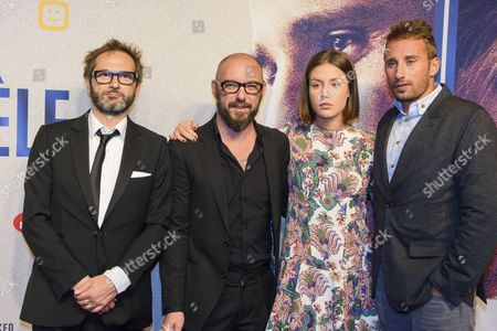 Michael R. Roskam, Matthias Schoenaerts and Adele Exarchopoulos