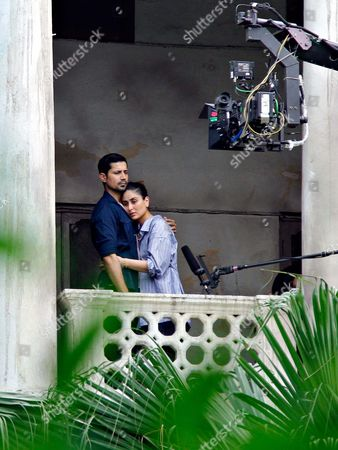 Editorial photo of 'Veere Di Wedding' on st filming, New Delhi, India - 30 Sep 2017