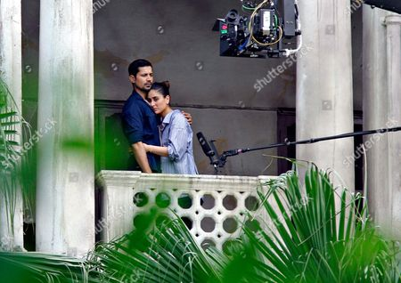 Editorial picture of 'Veere Di Wedding' on st filming, New Delhi, India - 30 Sep 2017