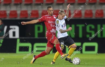 Editorial photo of Zulte Waregem V Sporting Lokeren, Waregem , Belgium - 04 Oct 2017