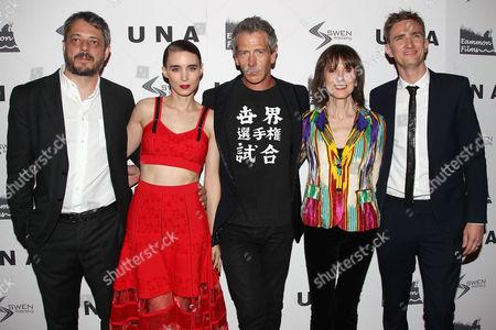 Benedict Andrews (Director), Rooney Mara, Ben Mendelsohn, Jean Doumanian and Patrick Daly