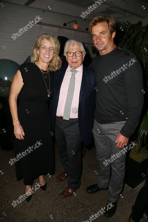 Rory Kennedy, Carl Bernstein and Laird Hamilton