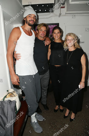 Editorial image of 'Take Every Wave: The Life of Laird Hamilton' film premiere, After Party, New York, USA - 04 Oct 2017