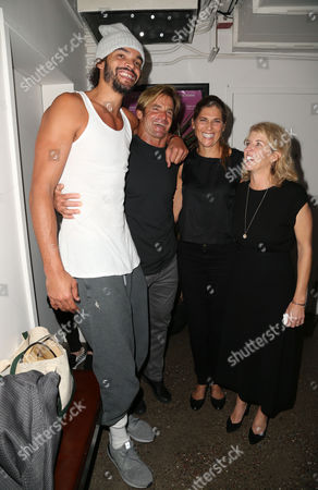 Stock Image of Joakim Noah, Laird Hamilton, Gabrielle Reece and Rory Kennedy