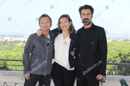 Paolo Franchi, Emmanuelle Devos and Fabrizio Gifuni