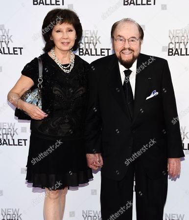 Kedakai Lipton, James Lipton. James Lipton and wife Kedakai attend the New York City Ballet's Fall Fashion Gala at the David H. Koch Theater, in New York