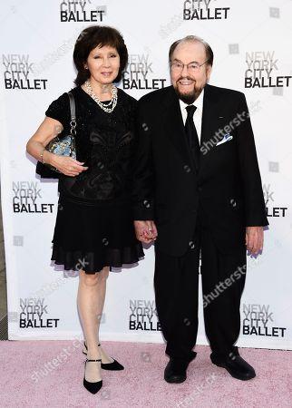 Stock Picture of Kedakai Lipton, James Lipton. James Lipton and wife Kedakai attend the New York City Ballet's Fall Fashion Gala at the David H. Koch Theater, in New York