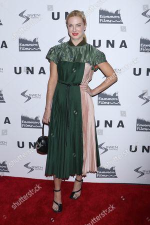 Editorial photo of 'Una' film screening, Arrivals, New York, USA - 04 Oct 2017