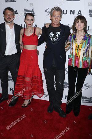 Benedict Andrews, director, Rooney Mara, Ben Mendelsohn, Jean Doumanian, producer