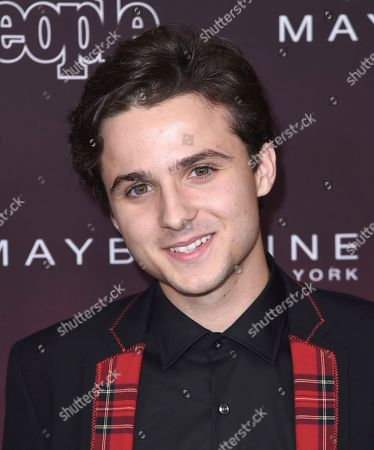 """Dylan Schmid arrives at the 5th annual People Magazine """"Ones To Watch"""" party at NeueHouse Hollywood, in Los Angeles"""