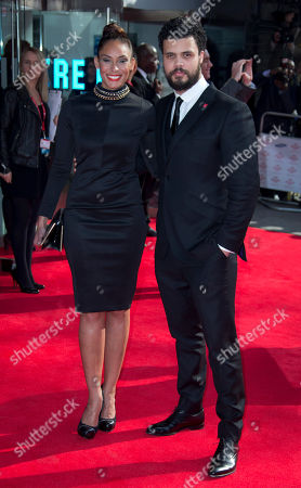 Howard Charles arrives on the red carpet for The Prince's Trust and Samsung Celebrate Success Awards 2014 at the Odeon in Leicester Square, central London