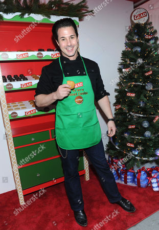 Celebrity pastry chef Johnny Iuzzini joins The Glad Products Company to celebrate National Cookie Day and the 89th annual New York Stock Exchange tree lighting by giving away thousands of cookies, in New York. For every cookie exchanged this holiday season, Glad will make a donation to its longstanding partner Cookies for Kidsâ?™ Cancer, a nonprofit that raises funds for pediatric cancer research through cookie sales