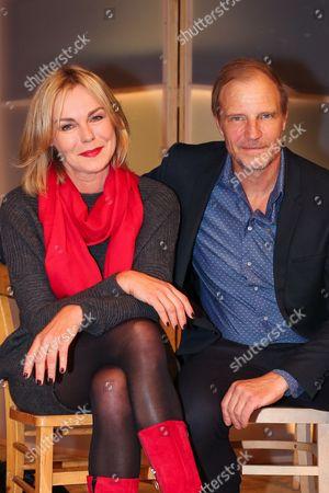 Saskia Valencia with Thorsten Nindel