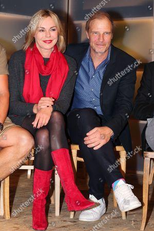 Stock Photo of Saskia Valencia with Thorsten Nindel