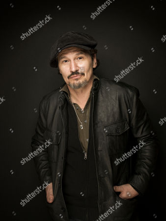 """Nick Damici from the film """"We Are What We Are"""" poses for a portrait during the 2013 Sundance Film Festival at the Fender Music Lodge, on Friday, Jan.18, 2013 in Park City, Utah"""