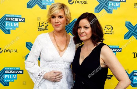 """Molly Ringwald, left, and Ally Sheedy walk the red carpet for """"The Breakfast Club"""" 30th Anniversary Restoration World Premiere during the South by Southwest Film Festival on in Austin, Texas"""