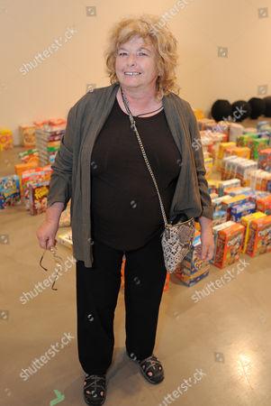 Joyce Pensato attends the Santa Monica Museum of Art Opening Reception Fall Season, in Santa Monica, Calif
