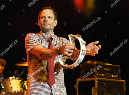 Robin Wilson of Gin Blossoms performs at the first-ever Summerland tour at the Greek Theatre on in Los Angeles, Calif