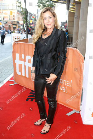 """Writer Paige Dylan attends a premiere for """"I Smile Back"""" on day 7 of the Toronto International Film Festival at the Princess of Wales theatre, in Toronto"""