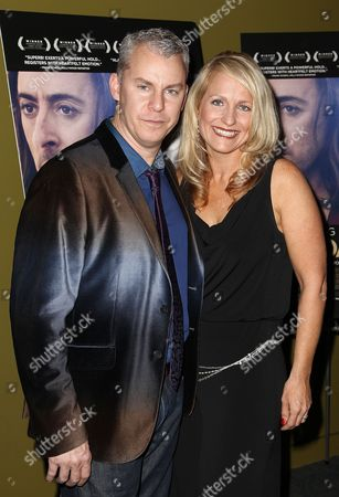 "Travis Fine and Kristine Fine attend a special screening of ""Any Day Now"" at the Sunshine Landmark Theater on in New York"